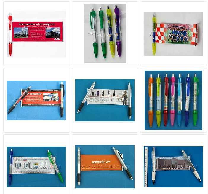 banner pens, diferent models and color to choose