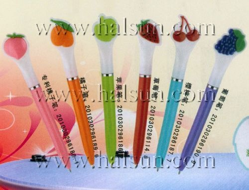 custom Fruits Pens,Peach Pens,Orange Pens,Apple Pens, Strawberry Pens,Cherry Pens,Grapes Pens