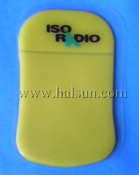 custom logo Car Grip Pad Anti Slide Dash