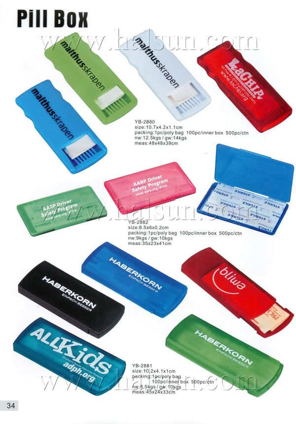 promotional bandage boxes, bandage dispensers