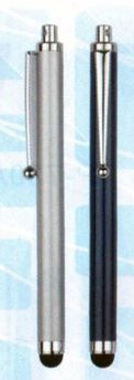 metal stylus pens, 2 in one pens
