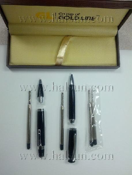 metal ballpoint pens gift set