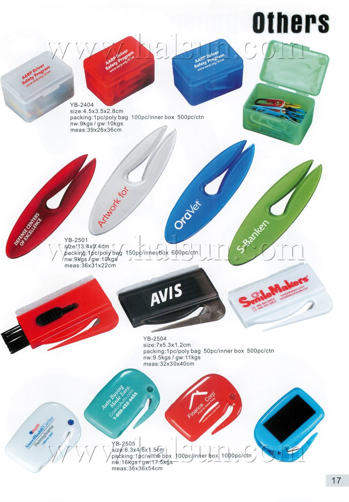 promotional letter openers